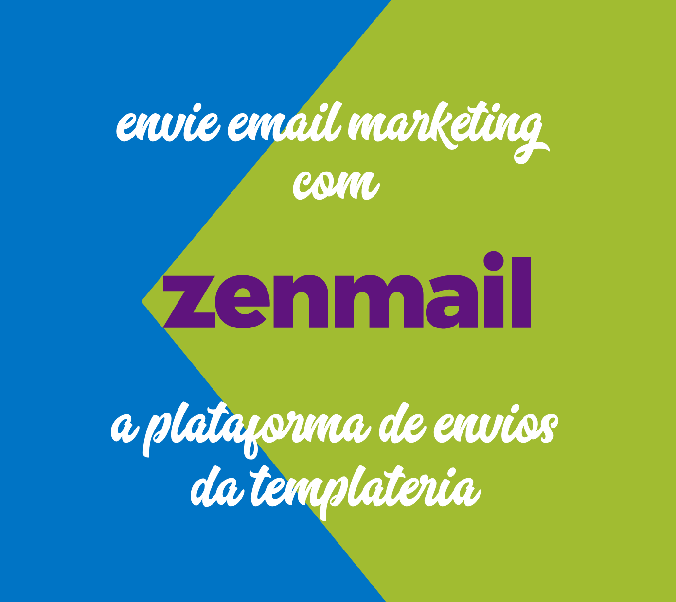 Envie email marketing com o Zenmail, a plataforma de email marketing da Templateria.